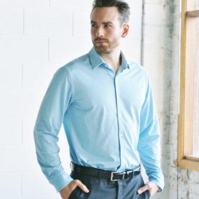 John Miles Non-Iron Performance Dress Shirt