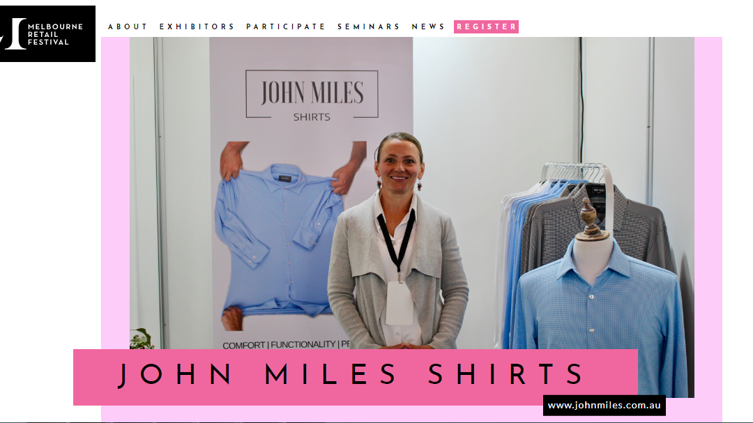 John Miles Shirts listed in Top 5 most inventive product developments from Australian designers
