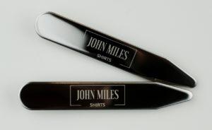 John Miles Stainless Steel Collar Stays